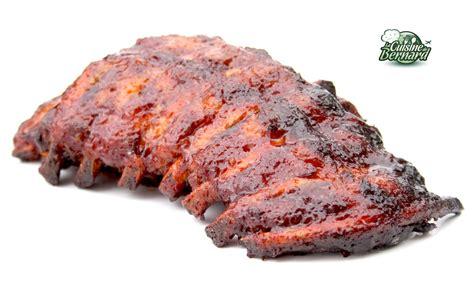 recette de cuisine d ete la cuisine de bernard travers de porc grillés sauce barbecue