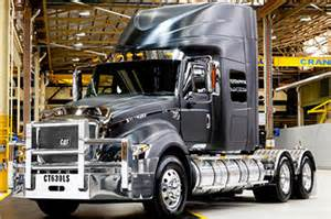 cat semi truck cat 174 luxury sleeper introduced at the melbourne