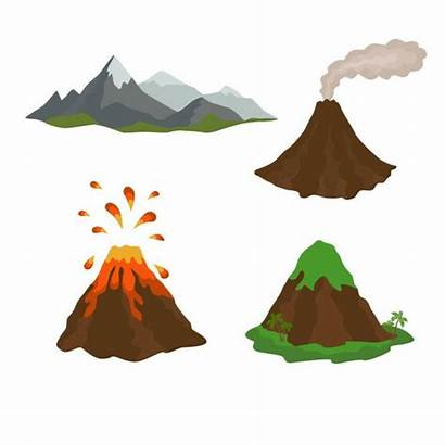 Volcano Dormant Active Volcan Clipart Mountain Vulkan