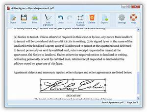 add your signature to any document for free activesigner With electronic document signature free