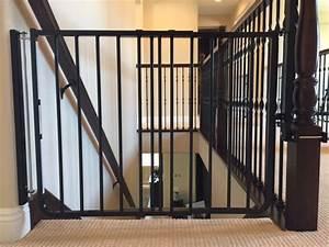 Black Child Safety Stair Gate Installation Baby Safe Homes