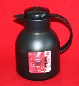Emsa Isolierkanne Samba : emsa samba 504235 isokanne isolierkanne kaffee kanne quick press schwarz 1l neu ebay ~ Yasmunasinghe.com Haus und Dekorationen