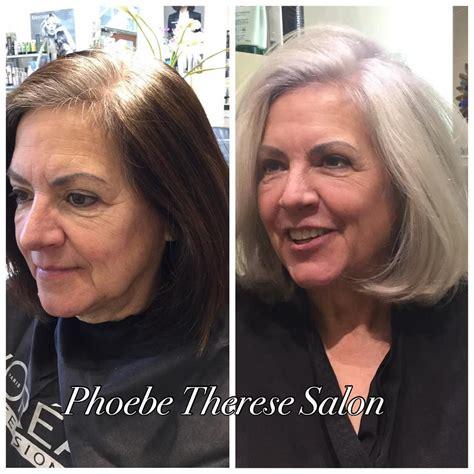 gray hair growing  ideas  pinterest grey
