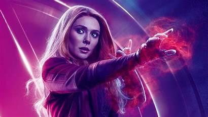 Witch Scarlet Marvel Endgame Avengers Wallpapers Desktop