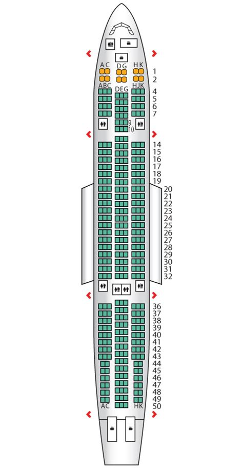 a330 200 air transat seat maps reviews seatplans