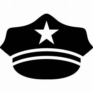 Hat of a policeman - Free icons