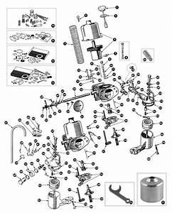 Parts For Austin Healey Bn1 - Bj8  U2022 Carburetor Bj8