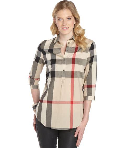 burberry blouse burberry womens blouse silk pintuck blouse