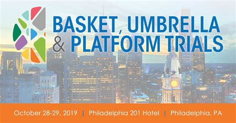 attend basket umbrella platform trials