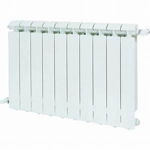 Radiateur Largeur 50 Cm : radiateur chauffage central klass blanc cm 1056 w ~ Premium-room.com Idées de Décoration