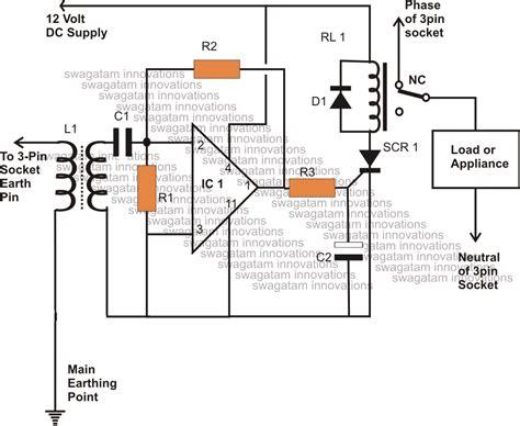 Earth Leakage Circuit Breaker Wiring Diagram by How To Make A Earth Leakage Circuit Breaker Elcb
