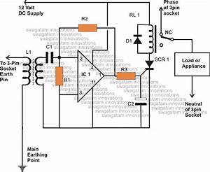 Hobby Electronic Circuits  Earth Leakage Circuit Breaker