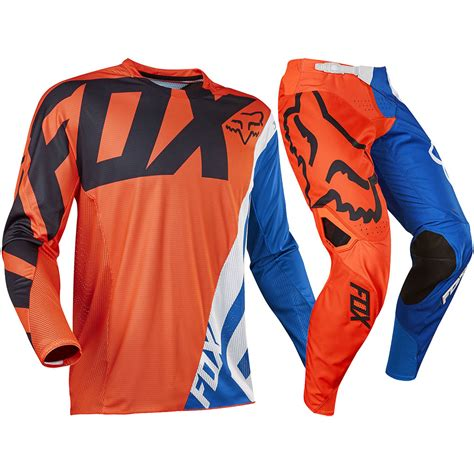 orange motocross gear fox racing 2017 kids mx new 360 creo blue orange youth
