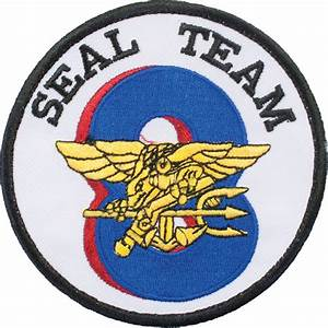 N-173 United States Navy Seal Team 8 Patch | US Military