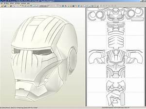 image gallery iron man helmet template With iron man helmet template download