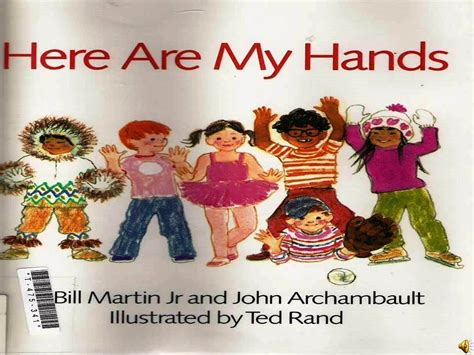 Here Are My Hands (book) Kids Reading With English