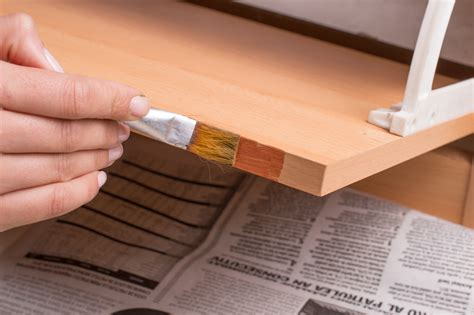 paint varnished cupboards  steps  pictures