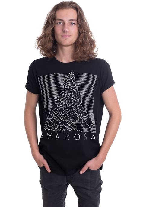 emarosa fox lines t shirt impericon de