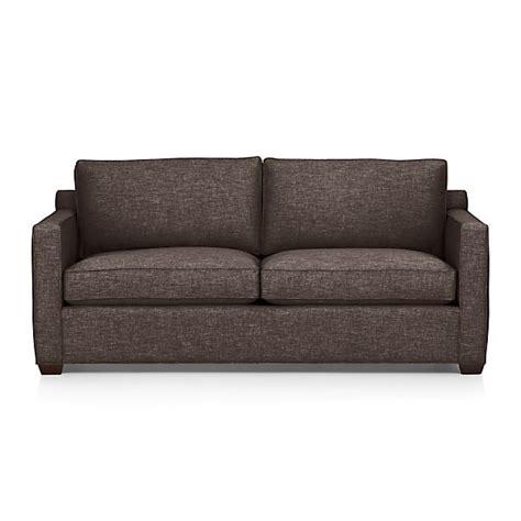 Davis Sleeper Sofa by Davis Sleeper Sofa Graphite Crate And Barrel