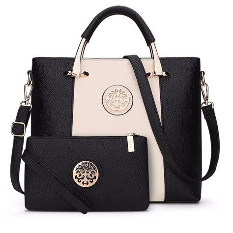 2017 Luxury Women Bags Female Leather Handbags Set
