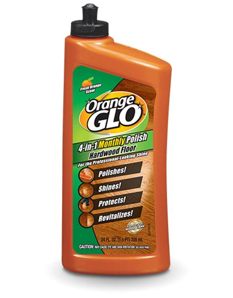 Orange Glo Hardwood Floor Cleaner by Hesco Inc Orange Glo Hardwood Floor 4 In 1 Monthly