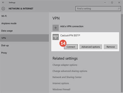 how to set up sstp vpn on windows 10 vpn setup tutorials