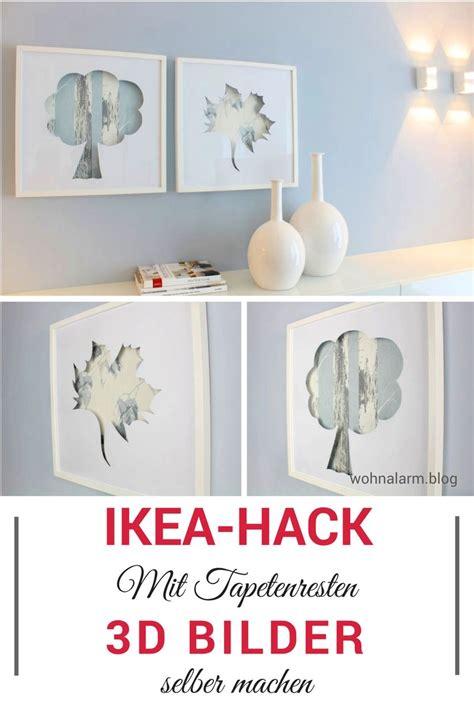Basteln Mit Tapetenresten by Ikea Hack 3d Bilder Mit Tapetenresten Im Ribba