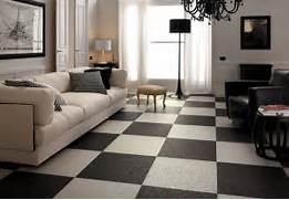 Living Room Tile Designs by Black White Living Room Checkered Floor Tiles Interior Design Ideas