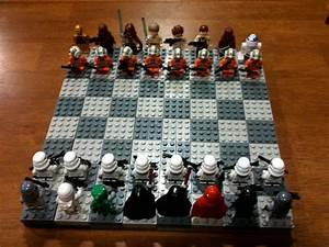 Awesome STAR WARS LEGO Chess Set — GeekTyrant