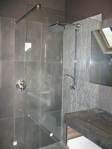 Paroi De Douche Sur Mesure : paroi de douche sur mesure coulissante ~ Nature-et-papiers.com Idées de Décoration