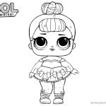 lol surprise doll coloring pages  printable coloring