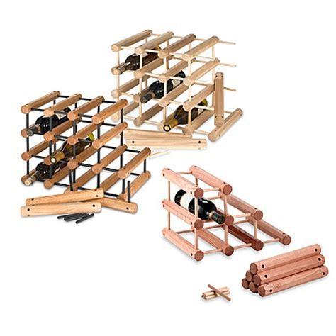 pictures of wine racks j k 40 bottle wine rack bed bath beyond