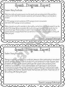free speech therapy progress report template editable With speech therapy progress report template