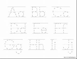 free alphabet beginning writers 85quot x 11quot With learning letters