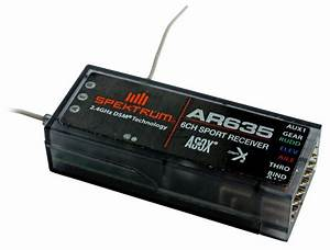 Programming The Spektrum Ar635 Receiver With As3x
