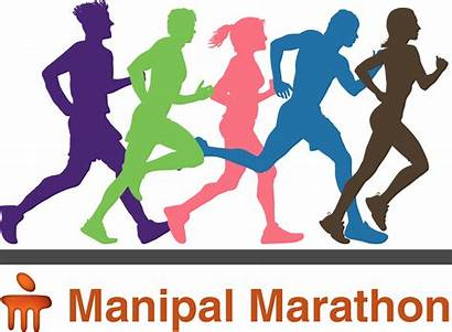 Marathon Clipart Runner Transparent London Clip Running