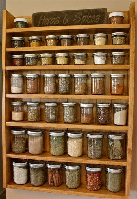 Spice Rack Without Jars by Solid Wood Spice Racks Spice Racks Jars By