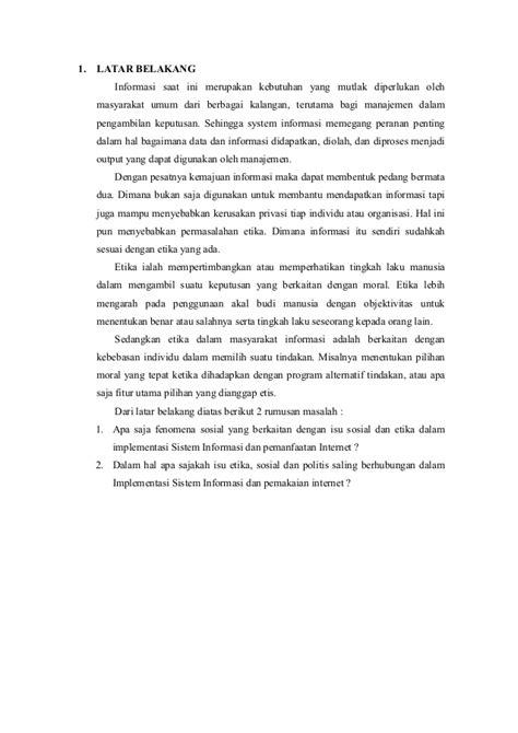 4. si & pi, lely wijaya, hapzi ali, isu sosial dan etika