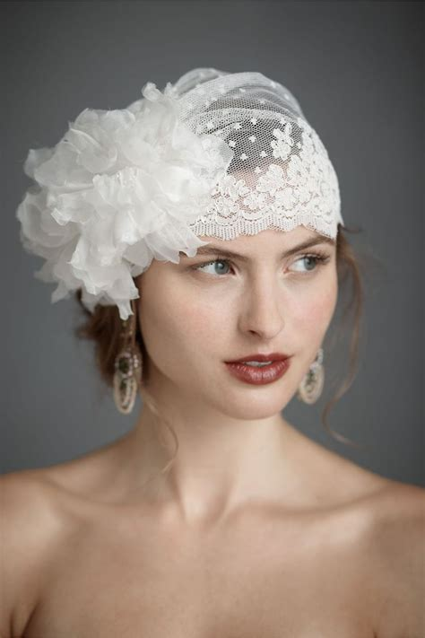 Wedding Veils Bridal Headpieces Ivory Vintage Bhldn