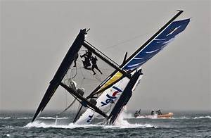 Carnage At The Extreme Sailing Series Day 3 In Qingdao ...