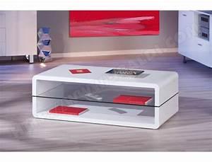 Table Basse Blanche Pas Cher : table basse ub design xono blanche pas cher ~ Teatrodelosmanantiales.com Idées de Décoration