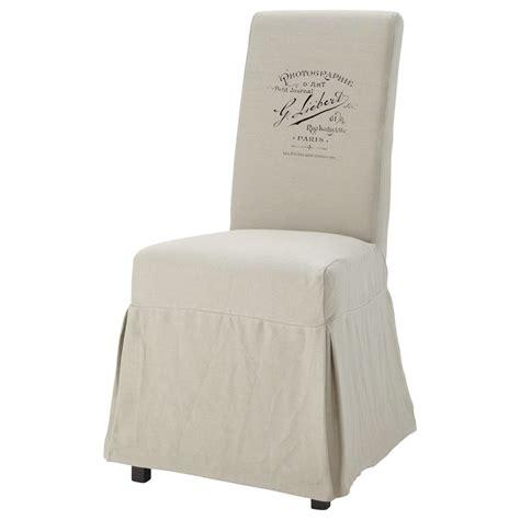 housse chaise maison du monde housse de chaise margaux antan maisons du monde