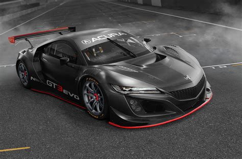2019 Acura Rance : 2019 Acura Nsx Gt3 Made Faster With New Bodywork