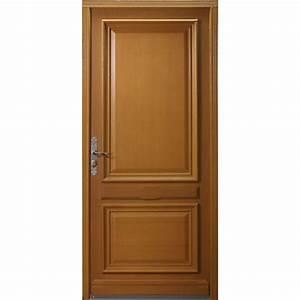 Porte Sans Bati Leroy Merlin : porte d 39 entr e bois cherverny 4 artens poussant gauche h ~ Dailycaller-alerts.com Idées de Décoration