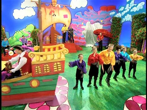 The Wiggles Six Months In A Leaky Boat by Image Sixmonthsinaleakyboat Jpg Wigglepedia Fandom