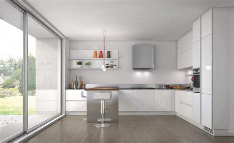 shades  white kitchen