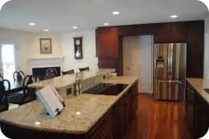 two level kitchen island designs kitchens designed for entertaining