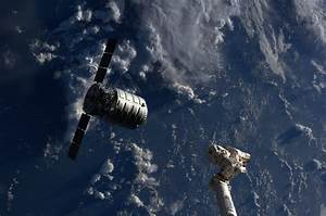 Doubly Historic Day for Private Space: Cygnus docks at ...