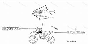 Honda Motorcycle 2004 Oem Parts Diagram For Marks