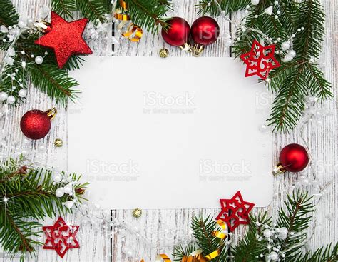 christmas background blank paper  decoration stock